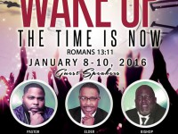 Wake Up: The Time Is Now
